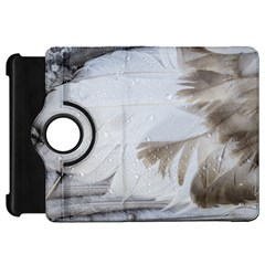Feather Brown Gray White Natural Photography Elegant Kindle Fire Hd 7  by yoursparklingshop