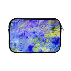 Abstract Blue Texture Pattern Apple Ipad Mini Zipper Cases