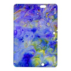 Abstract Blue Texture Pattern Kindle Fire Hdx 8 9  Hardshell Case