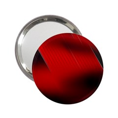 Red Black Abstract 2 25  Handbag Mirrors