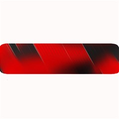 Red Black Abstract Large Bar Mats