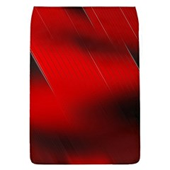 Red Black Abstract Flap Covers (l)