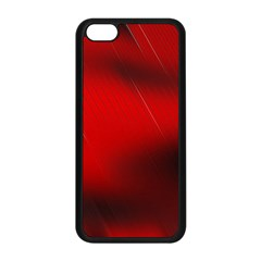 Red Black Abstract Apple Iphone 5c Seamless Case (black)