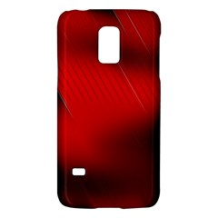 Red Black Abstract Galaxy S5 Mini
