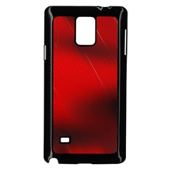 Red Black Abstract Samsung Galaxy Note 4 Case (black)