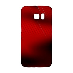 Red Black Abstract Galaxy S6 Edge