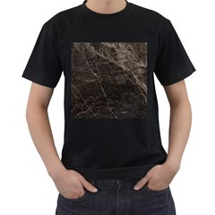 Marble Tiles Rock Stone Statues Men s T Shirt (black) (two Sided)
