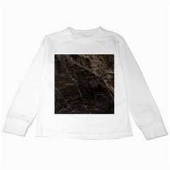 Marble Tiles Rock Stone Statues Kids Long Sleeve T Shirts