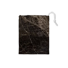 Marble Tiles Rock Stone Statues Drawstring Pouches (small)