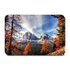 Dolomites Mountains Italy Alpine Plate Mats