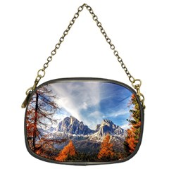 Dolomites Mountains Italy Alpine Chain Purses (one Side)