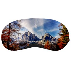 Dolomites Mountains Italy Alpine Sleeping Masks