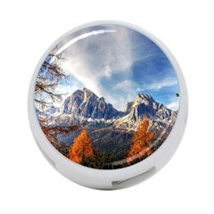 Dolomites Mountains Italy Alpine 4 Port Usb Hub (one Side)