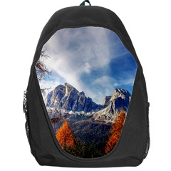 Dolomites Mountains Italy Alpine Backpack Bag
