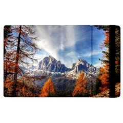 Dolomites Mountains Italy Alpine Apple Ipad 2 Flip Case