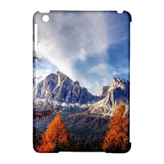 Dolomites Mountains Italy Alpine Apple Ipad Mini Hardshell Case (compatible With Smart Cover) by Simbadda