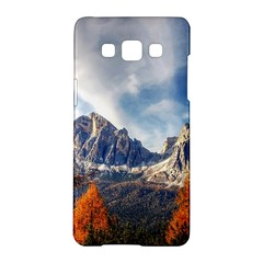 Dolomites Mountains Italy Alpine Samsung Galaxy A5 Hardshell Case