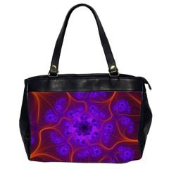 Fractal Mandelbrot Office Handbags (2 Sides)  by Simbadda