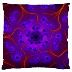 Fractal Mandelbrot Large Flano Cushion Case (one Side)