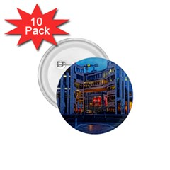 Architecture Modern Building 1 75  Buttons (10 Pack)