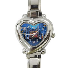 Architecture Modern Building Heart Italian Charm Watch