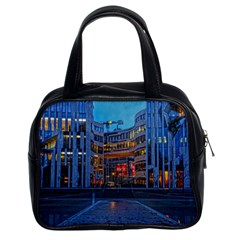 Architecture Modern Building Classic Handbags (2 Sides) by Simbadda