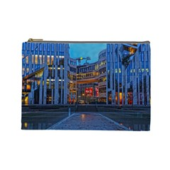 Architecture Modern Building Cosmetic Bag (large)