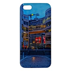 Architecture Modern Building Apple Iphone 5 Premium Hardshell Case by Simbadda
