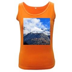 Mountains Alpine Nature Dolomites Women s Dark Tank Top