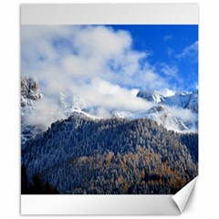 Mountains Alpine Nature Dolomites Canvas 8  X 10