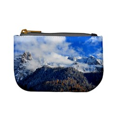 Mountains Alpine Nature Dolomites Mini Coin Purses