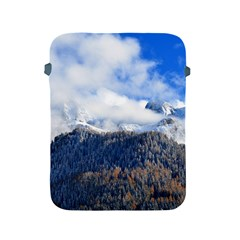 Mountains Alpine Nature Dolomites Apple Ipad 2/3/4 Protective Soft Cases by Simbadda