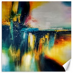 Art Painting Abstract Yangon Canvas 12  X 12
