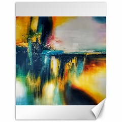 Art Painting Abstract Yangon Canvas 12  X 16