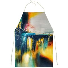 Art Painting Abstract Yangon Full Print Aprons