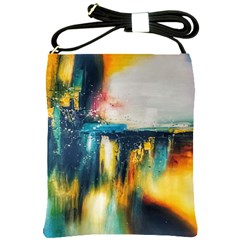 Art Painting Abstract Yangon Shoulder Sling Bags