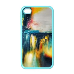Art Painting Abstract Yangon Apple Iphone 4 Case (color)