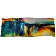 Art Painting Abstract Yangon Body Pillow Case (dakimakura)