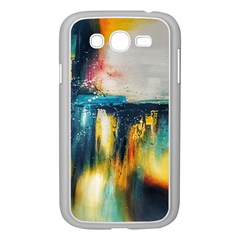 Art Painting Abstract Yangon Samsung Galaxy Grand Duos I9082 Case (white)