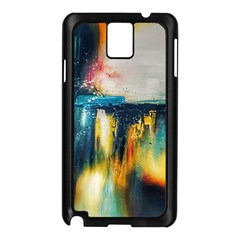 Art Painting Abstract Yangon Samsung Galaxy Note 3 N9005 Case (black)
