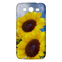 Sunflower Floral Yellow Blue Sky Flowers Photography Samsung Galaxy Mega 5 8 I9152 Hardshell Case