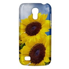 Sunflower Floral Yellow Blue Sky Flowers Photography Galaxy S4 Mini by yoursparklingshop