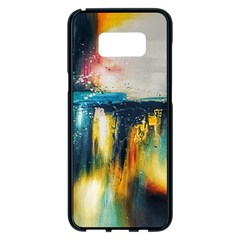 Art Painting Abstract Yangon Samsung Galaxy S8 Plus Black Seamless Case