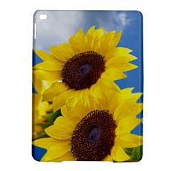 Sunflower Floral Yellow Blue Sky Flowers Photography Ipad Air 2 Hardshell Cases
