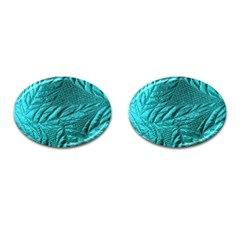 Background Texture Structure Cufflinks (oval)