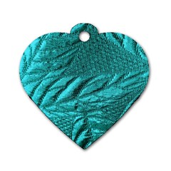 Background Texture Structure Dog Tag Heart (one Side)