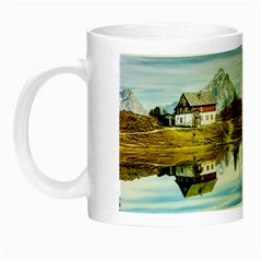 Dolomites Mountains Italy Alpin Night Luminous Mugs
