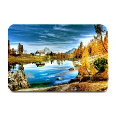 Dolomites Mountains Italy Alpin Plate Mats