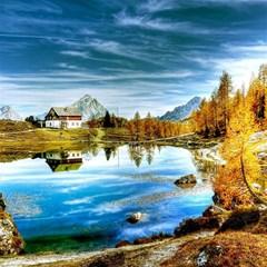 Dolomites Mountains Italy Alpin Magic Photo Cubes