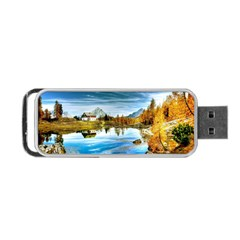 Dolomites Mountains Italy Alpin Portable Usb Flash (two Sides)
